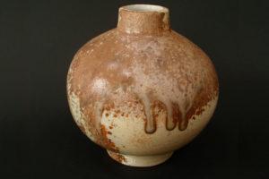 天然磁器 球体花瓶