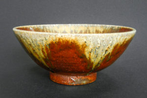 Tea bowl, iron-rich Mostviertel clay