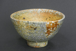 Chawan, reduction marks