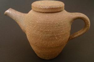 Henkel-Teekanne - eisenreicher Ton - yakishime