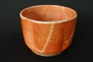 Matcha bowl – red shino
