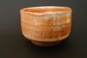 Matcha-Chawan - rotes shino