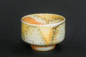 Matcha bowl, natural porcelain