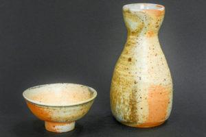 Sake Set, Naturporzellan